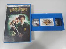 HARRY POTTER Y LA CAMARA SECRETA VHS CINTA TAPE COLECCIONISTA ESPAÑA