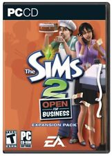 The Sims 2 Open For Business PC Games Windows 10 8 7 XP Computer expansion pack