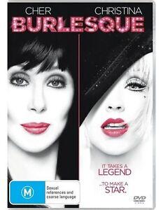 Burlesque DVD Cher Movie Musical Christina Aguilera Movie - SAME / NEXT DAY POST