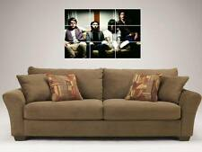 "NEVERSHOUTNEVER MOSAIC 35"" BY 25"" WALL POSTER CHRISTOFER DREW CHRIS"