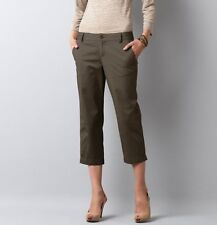 Ann Taylor LOFT Julie Cotton Twill Cropped Pant NWT! Org. $49.50 (IN)