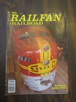 Railfan & Railroad August 1988 San Bernardino Restores a Classic