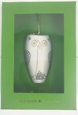"Kate Spade Woodland Park Tall Owl Ornament Lenox Holiday Christmas Decoration 3"""