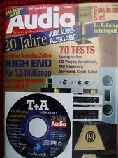 AUDIO 1/98,BURMESTER B 97,808 MK V,MBL 9010,CLEARAUDIO REFERENCE,SOUTHER TQ 1,