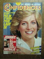 CONFIDENCES 1877 (25/11/83) JOHNNY HALLYDAY BAYE