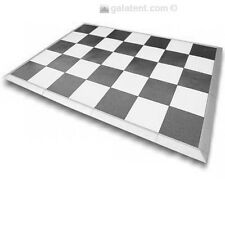 4 m x 4 m acheter le plancher de danse Portable - noir et blanc à vendre