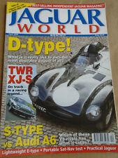 Jaguar World Apr 2005 D Type, S Type vs Audi A6, TWR XJS