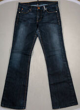 WOMEN'S ARMANI EXCHANGE BORDERLINE INDIGO JEANS - SIZE 6