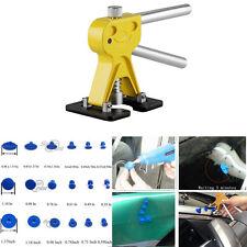 Car Autos Body Paintless PDR Dent Lifter Repair Tool W/ 18 Blue Glue Puller Tabs