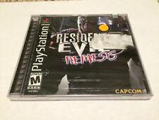 RESIDENT EVIL 3 NEMESIS BLACK LABEL BRAND NEW PLAYSTATION 1 PS1 PSX SEALED