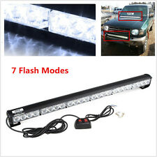 Emergency Strobe Lamp Bumper Roof Lights 24LED Flash Light Bar For Offroad 4WD