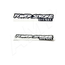 2pc fits Oem for Ford Powerstroke Diesel Badge Emblem Decal Sticker 6.0 6.4 7.3