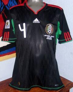 ADIDAS MEXICO WC2010 AWAY RAFA MARQUEZ S ORIGINAL JERSEY SHIRT
