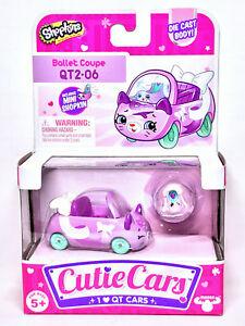 Shopkins Cutie Cars QT2-06 Ballet Coupe Series 2 New