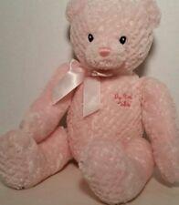"Baby Gund 15"" Stuffed Plush My First Teddy 5834 Pink. Machine Washable."