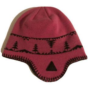 Nike ACG Fleece-lined Beanie Winter Hat Earflap Wool Blend Sz S/M