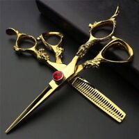 Professional Hairdressing Scissors Barber Salon Hair Cutting/thinning Shears 7""