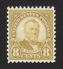 Us #560 1922-25 Pale Olive Green Perf 11 Unwmk Mnh Vf Scv $100