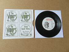 "THE VIPERS I've Got You 7"" RARE 1978 ORIGINAL IRISH POWERPOP PUNK UNDERTONES"