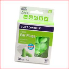 Flents Quiet Contour Ear Plugsearplugs 10 Pair Case Included Nrr 33 In