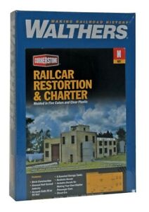 Railcar Restoration & Charter Structure N Kit - Walthers Cornerstone #933-3825