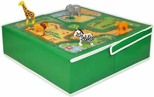 FUN2GIVE POP-IT-UP ZOO TABLE WITH TOY STORAGE PLAYHOUSE