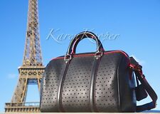 AUTH NEW LOUIS VUITTON SOFIA COPPOLA SC PM PERFORATED CROSS BODY NAVY/PINK BAG