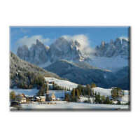 Tela Quadro Canvas Paesaggio Sankta Magdalena Alto Adige Dolomiti Montagna  Citt