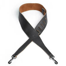 Planet Waves 2.5 Inch Garment Leather Banjo Strap With Coated Metal Hook