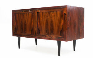 Danish Mid Century Rosewood Sideboard Cabinet