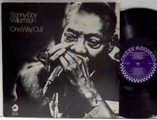 SONNY BOY WILLIAMSON One Way Out LP 1984 Chess reissue EX+