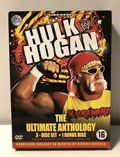 "HULK HOGAN ""THE ULTIMATE ANTHOLOGY"" 4 DVD BOX ENGLISH/GERMAN/FRENCH DUTCH SUBS"