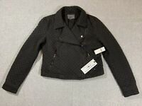 NWT ANTHROPOLGIE Marrakech Quilted Moto Jacket Womens Size S