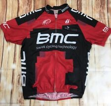 BMC Racing Team Swiss Cyclisme Technologie Maillot de cyclisme avec Long Zip T-shirt S