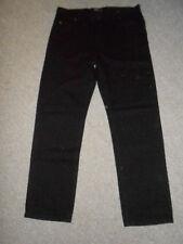 180 A9A Lee Pantalones Vaqueros de hombre Brooklyn W36 L32 Negro