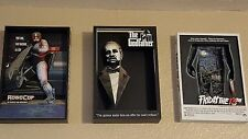3D MOVIE POSTER SCULPTURE MCFARLANE  7 total robocop,jaws,godfather,rocky & more