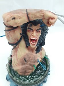 DYNAMIC FORCES WEAPON X RESIN BUST WOLVERINE MARVEL COMICS RARE /2000