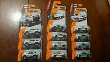 Matchbox 1/64 diecast lot of 11 police cars/trucks (new in package)