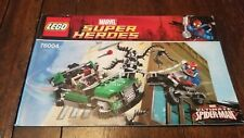 Lego Marvel Super Heroes (76004) Spider-Man Spider-Cycle Chase - Manual Only