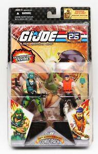 GI Joe 25th Anniversary Comic Pack Wave 4 Copperhead Shipwreck Figure