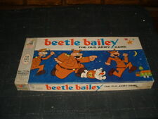 Vintage 1963 BEETLE BAILEY Old Army Board Game MILTON BRADLEY Complete EXCELLENT