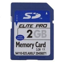 High Speed 2GB SD Card non HC,SD Memory Card 2GB for old Cameras