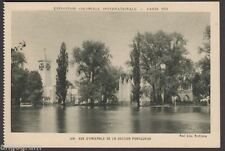 French Printed Collectable Exhibition Postcards
