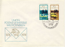 Ersttagsbrief DDR MiNr. 1984, 1987, 100 Jahre Weltpostverein (UPU)