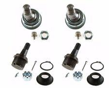 For Dodge Ram 2500 3500 2 Front Upper & 2 Lower Suspension Ball Joints Moog