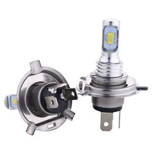 FIT For Suzuki DRZ400SM DR-Z400SM 2005-2009 2013-2017 H4 9003 LED Headlight Bulb