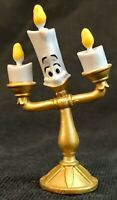 LUMIERE Disney BEAUTY AND THE BEAST PVC TOY Play Set FIGURE Birthday Cake Topper