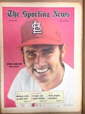 The Sporting News: STEVE CARLTON Super Season? MAY 8, 1971