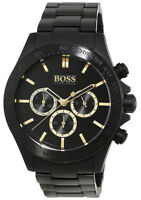Hugo Boss Men's Classic Quartz Chronograph Black Stainless Steel Watch 1513278