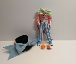 Barbie Collector Mad Hatter Doll Body with Outfit w Accessories Read Description